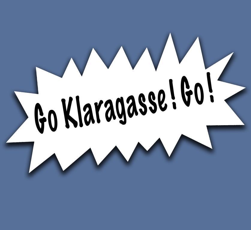 Go Klaragasse! Go!