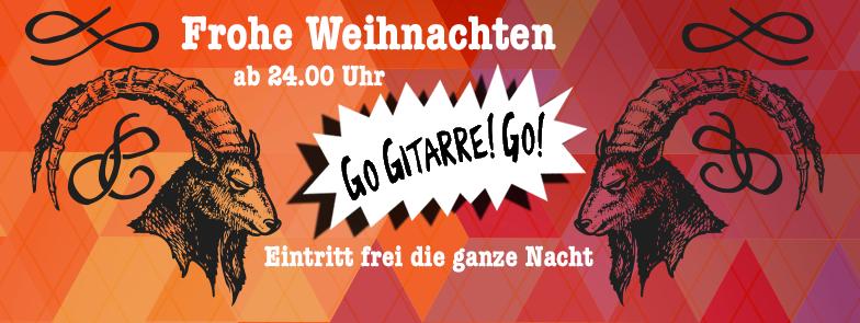 Eintritt frei: Go Gitarre! Go! Weihnachten