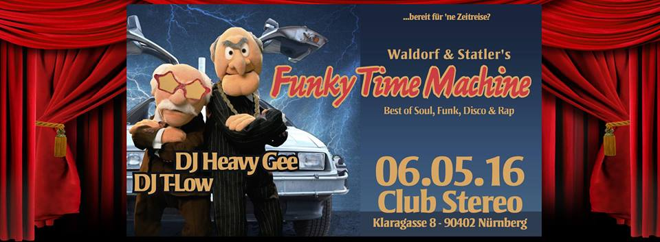 Waldorf & Statler´s FUNKY TIME MACHINE