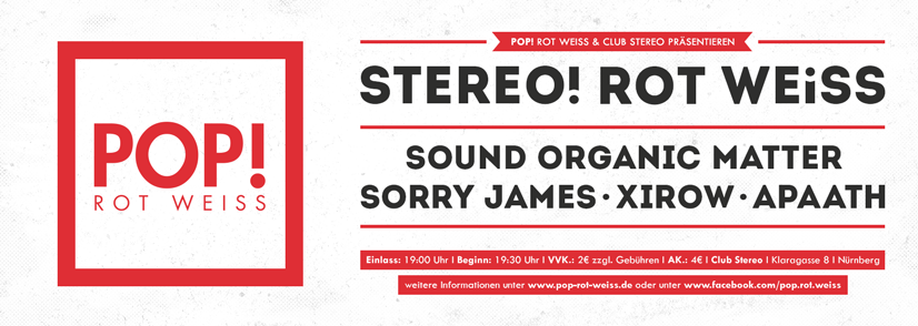 STEREO! ROT WEISS