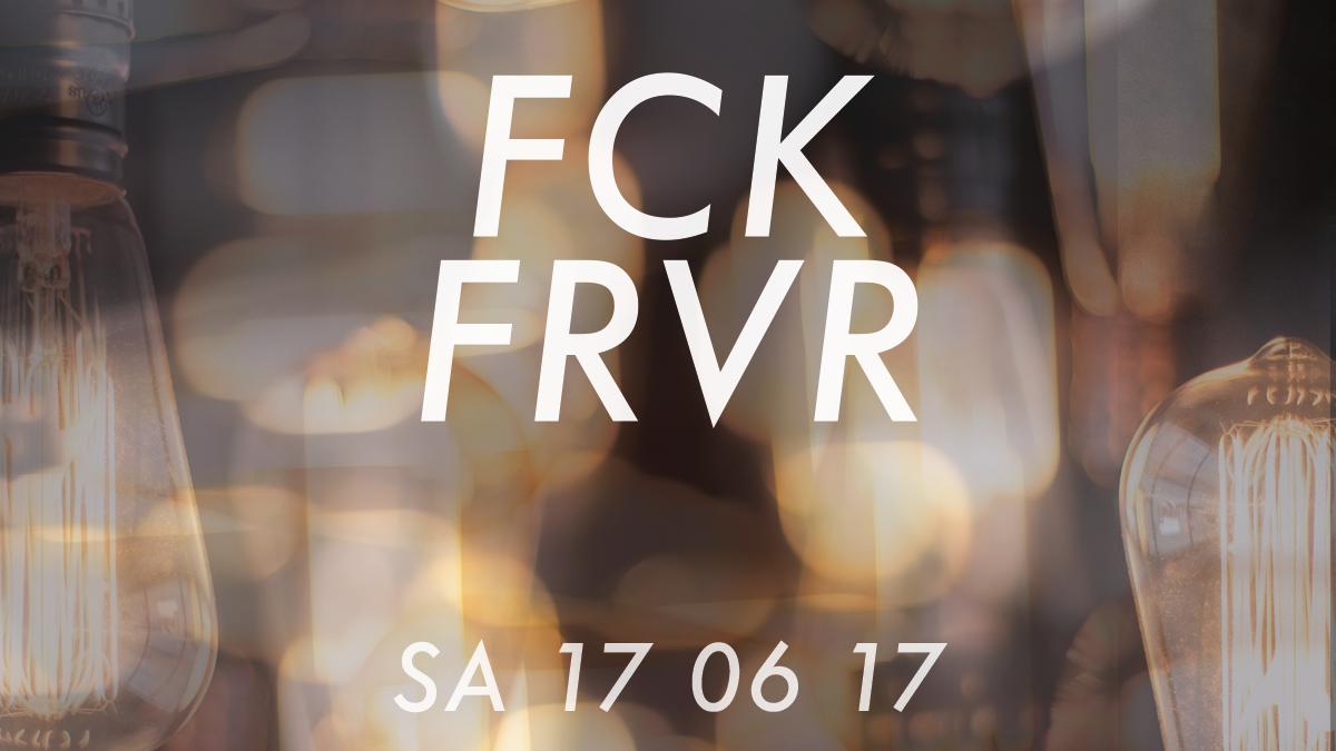 FCKFRVR – INDIE VIDEO DJ-SET