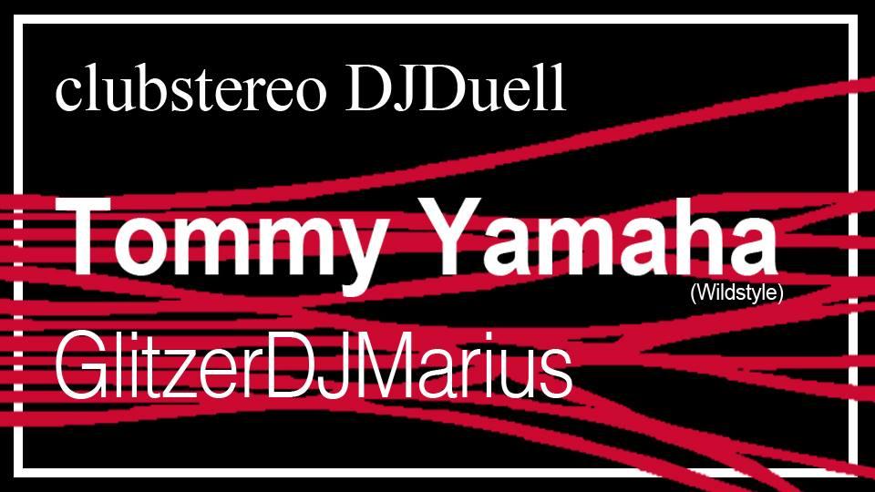 DJ-Duell ✩ Tommy Yamaha vs GlitzerDJMarius