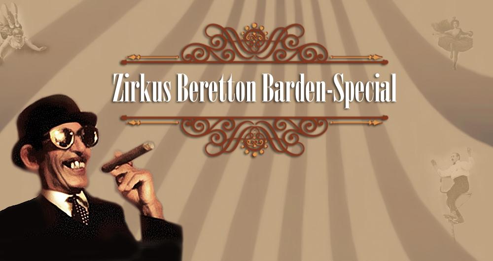 Zirkus Beretton Bardentreffen Spezial