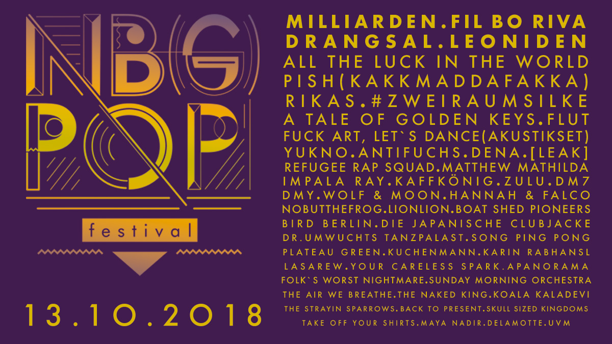 Nürnberg.Pop Festival 2018