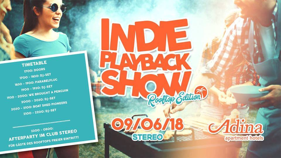 Indie Playback Show | Rooftop Edition
