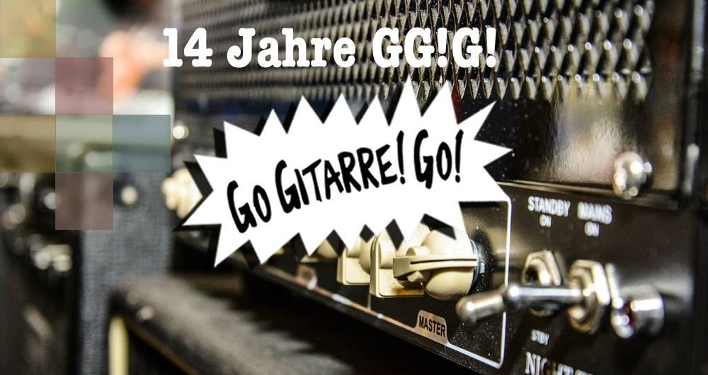 14 Jahre Go Gitarre! Go!