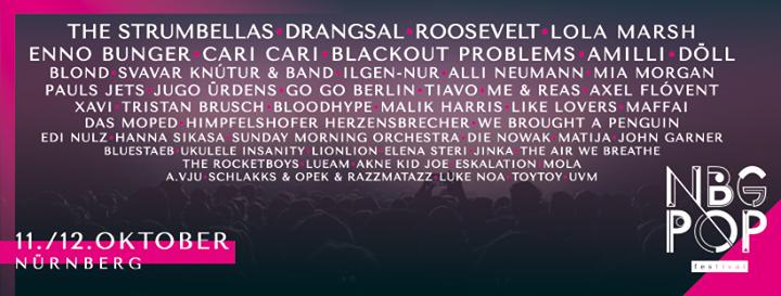 Nürnberg Pop Festival 2019