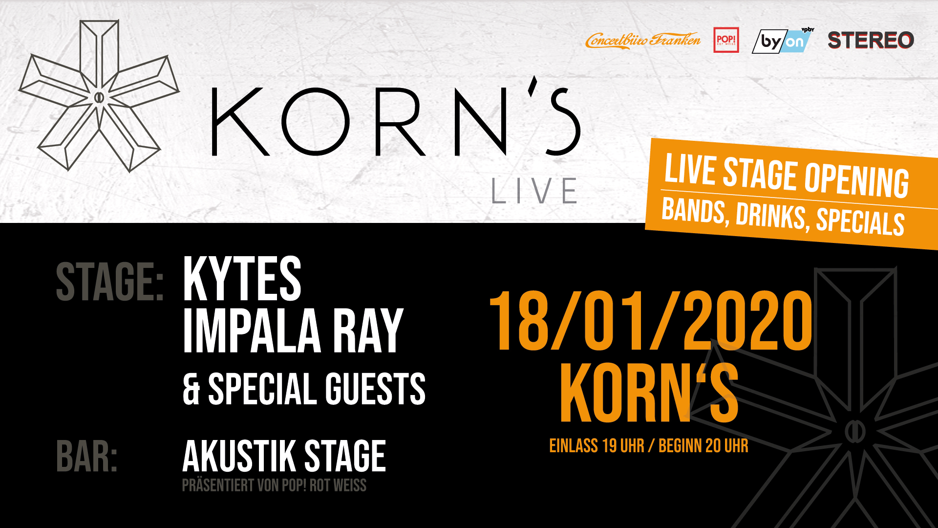 KORN´S  Live Stage Opening