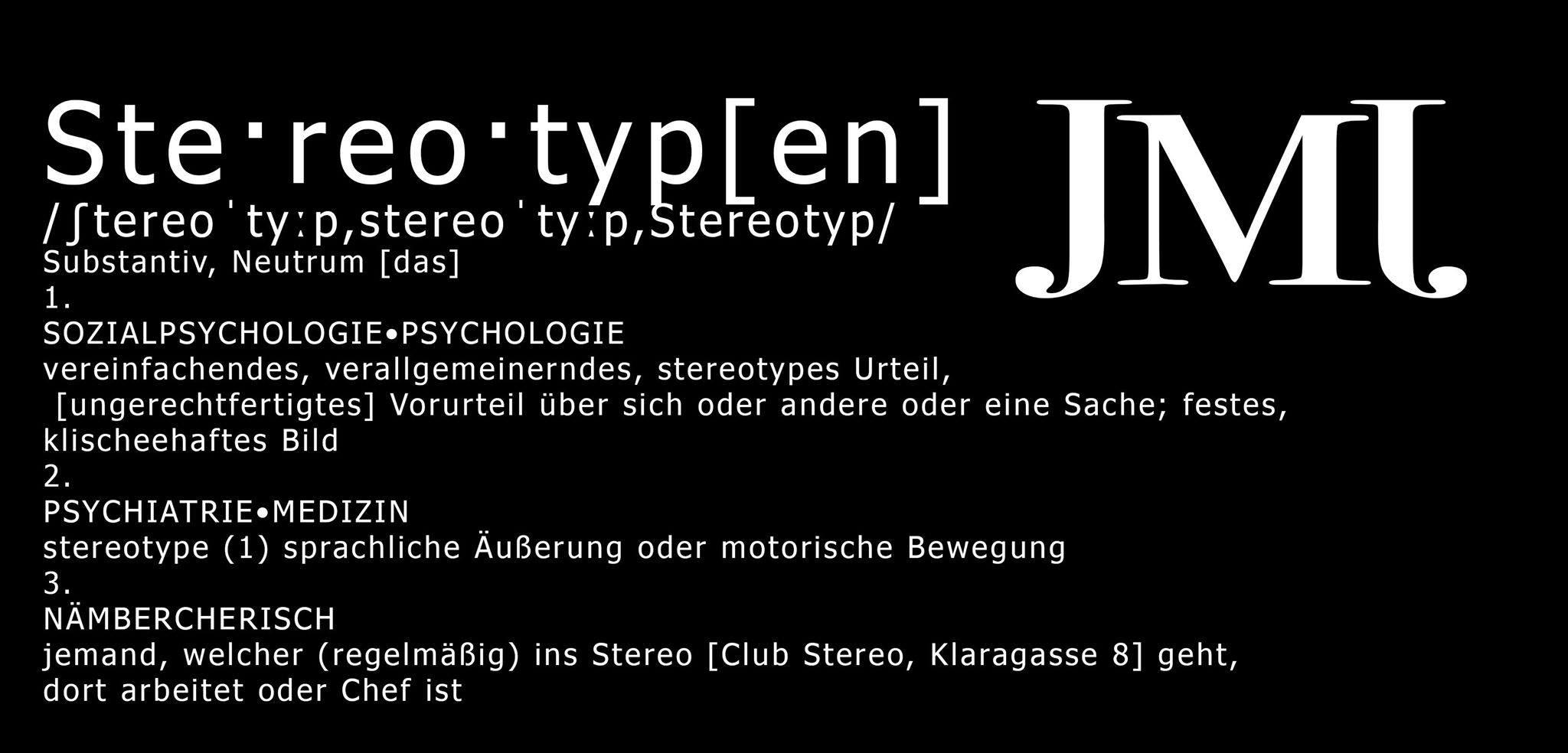 Stereotypen